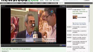 Più informazione, più approfondimento, più vicina alle tue esigenze: è la NFW-TV di Newsfood.com, 24 ore su 24 on line sul Web