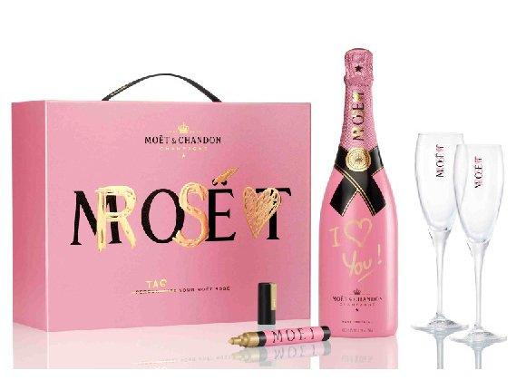 Moët & Chandon: Libera la tua fantasia personalizzando la luxury bottle Moët Rosé Impérial