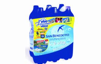 Vivi frizzante e vinci la Sardegna con acqua minerale San Benedetto