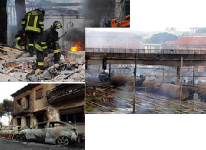 Deragliamento di Viareggio, si contano i morti e continuano i soccorsi