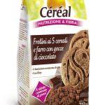 Frollini ai 5 cereali e farro con gocce di cioccolato Céréal