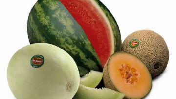 Anguria e melone: buona frutta, tanta acqua