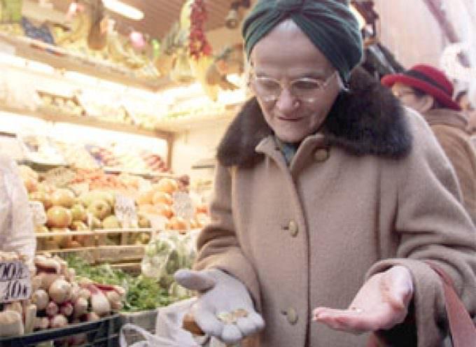 Inflazione: Coldiretti, per alimentari cresce 4 volte la media