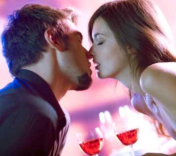 San Valentino uguale cena romantica