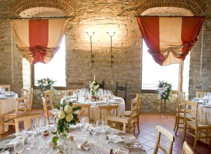 Venerdì 7 agosto, presso il ristorante del Castello di Trisobbio, cena a base di pesce