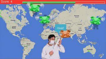 """Cura il maiale e combatti l'influenza suina con """"Swinefighter"""""""