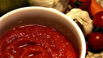 La salsa di pomodoro fatta in casa