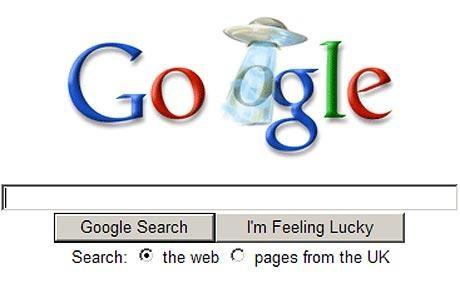 Google, gli alieni ed il mistero del logo