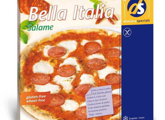 L'azienda DS presenta un nuovo gusto: Pizza Bella Italia al salame, senza glutine