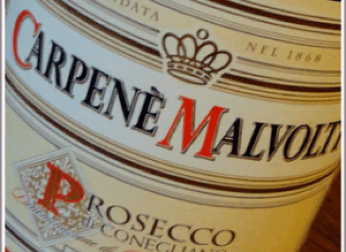 Diploma d'Oro in Svizzera e Top Hundred per il Prosecco Carpenè Malvolti