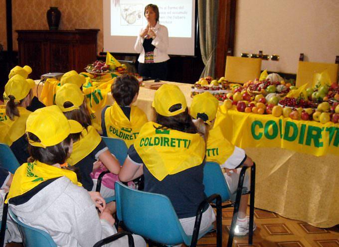 "Scuola: Coldiretti, distribuita la prima ""Merenda Antivirus"""