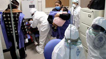 Influenza A: in Italia, in ospedale 1 malato su tre
