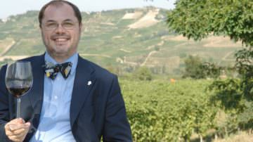 Paolo Massobrio a Fontanafredda per presentare il suo nuovo libro