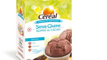 Muffin al Cacao senza glutine Céréal