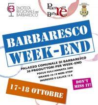 Barbaresco WeekEnd