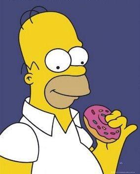 Gran Bretagna: i Simpson maestri di alimentazione sana