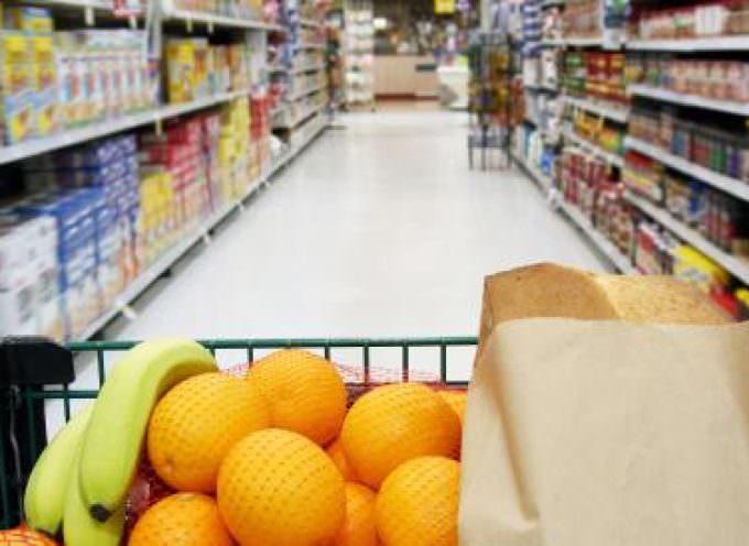 Consumi: Sempre meno frutta e verdura nel carrello degli italiani