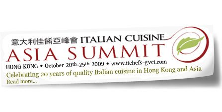 Il Made in Italy a tavola in vetrina all'Italian Cuisine Asia Summit