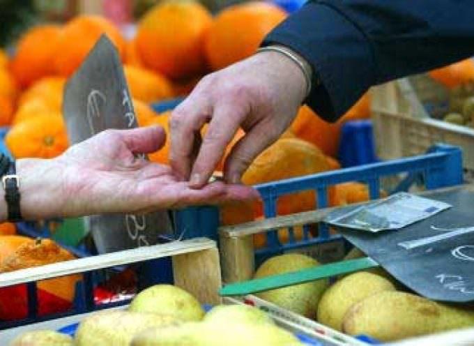 Commercio: Istat Coldiretti, crescono solo acquisti da produttore