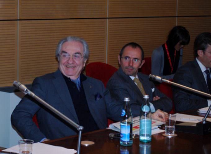 Gualtiero Marchesi ospite del Festival dell'Enoturismo di Vicenza, annuncia la mostra dei suoi 50 anni di attività