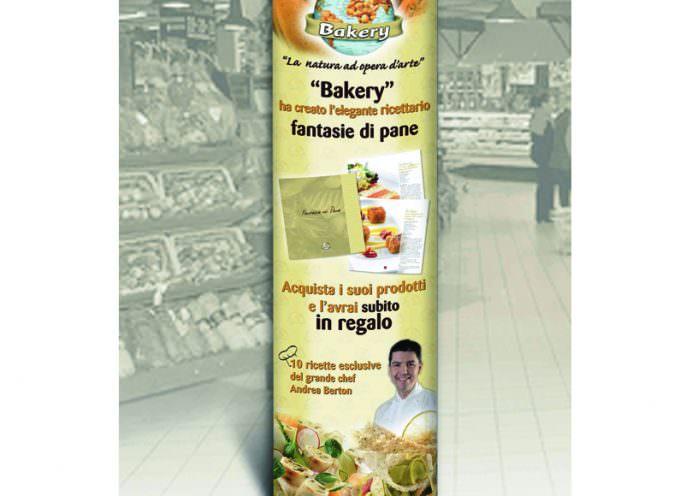 """Il totem della Bakery da oggi nei punti vendita per promuovere """"Fantasie di Pane"""""""