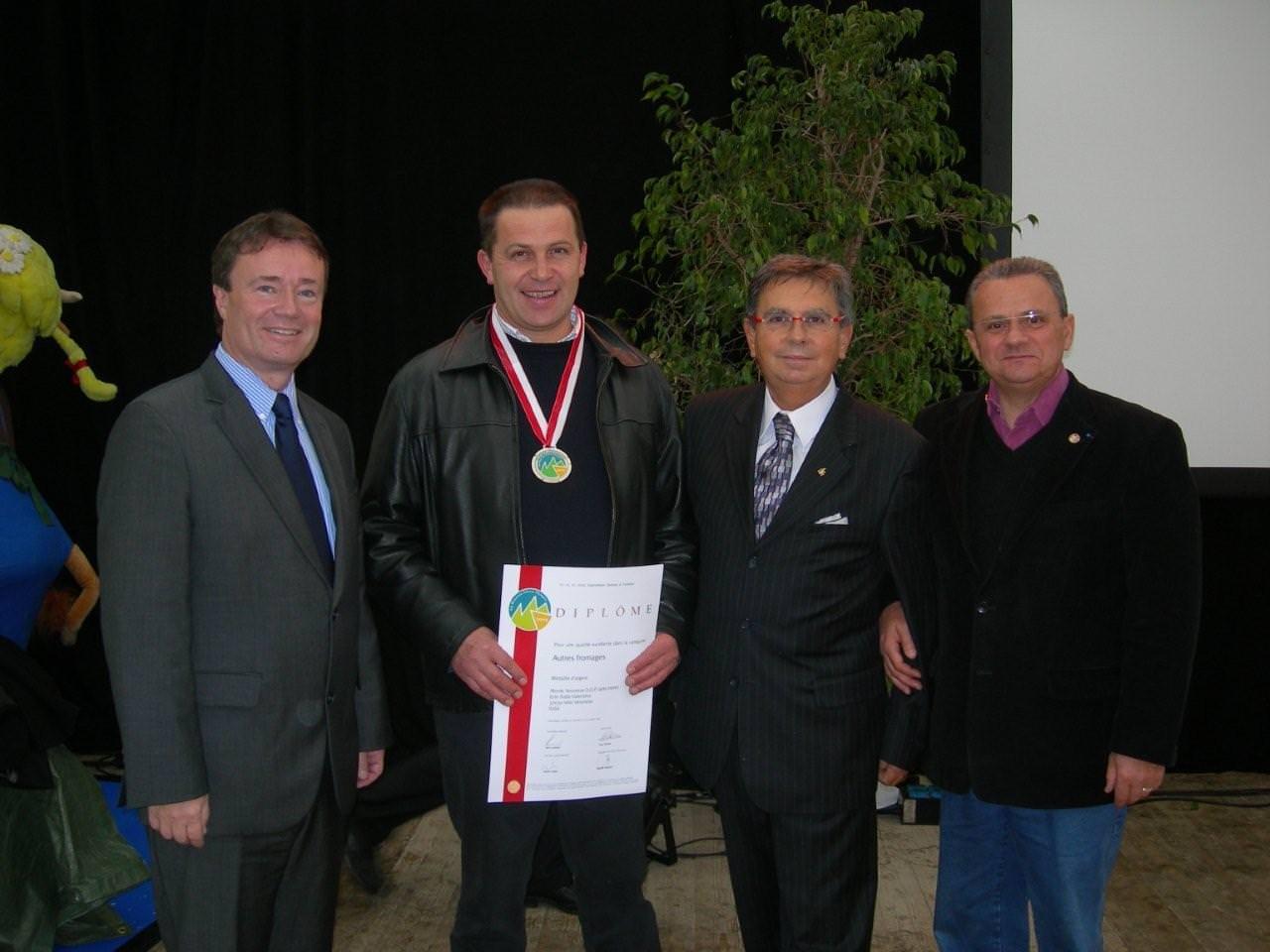 Olimpiadi: ottimo risultato del formaggio Monte Veronese DOP che conquista un argento e due premi speciali