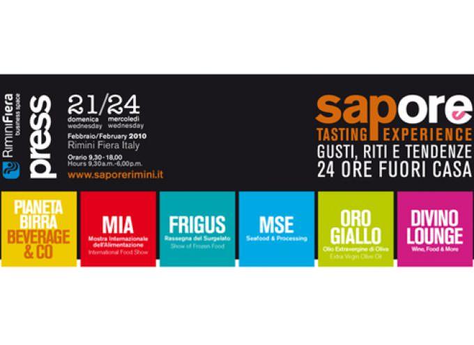 """A Rimini Fiera """"Sapore"""" esalta l'innovazione"""
