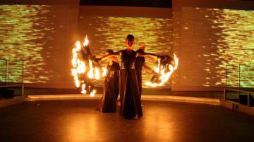 Firenze: Fancy International presenta lo show di fuoco dei Lumen Invoco