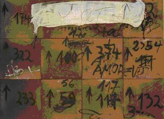 Antoni Tàpies: Materia e Tempo a cura di Alberto Fiz