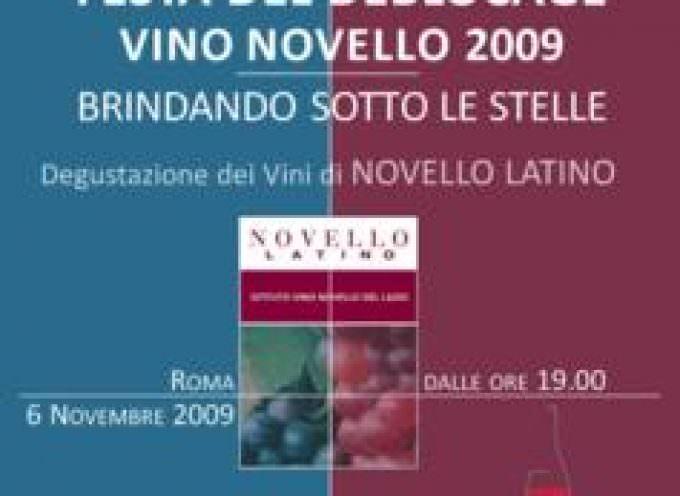 Roma: Il 6 Novemre si festeggia l'arrivo del vino novello