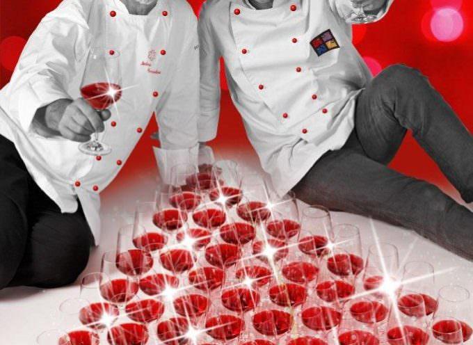 """Al Villaggio di Natale di Bussolengo il Bardolino propone i corsi di cucina con gli chef """"stellati"""" del lago di Garda"""