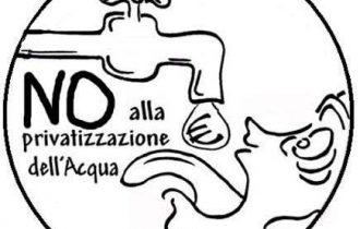 Italia dei Diritti contro la privatizzazione dell'acqua