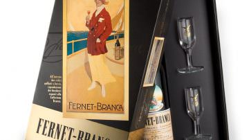 Marcello Dudovich e i Maestri dell'Affiche degli anni trenta vestono per Natale Fernet-Branca