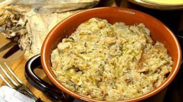 """Il Ristorante da Riccardo di Asiago propone un menù speciale per la """"Giornata del Bacalà alla Vicentina"""""""