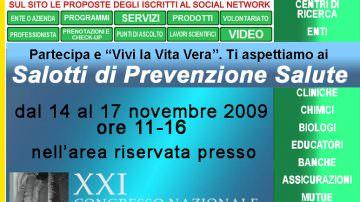 Congresso SIUMB: i Salotti di Prevenzione e Salute