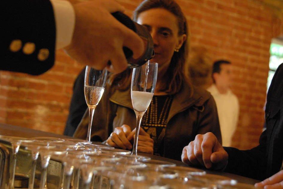 Successo per la degustazione di vini Franciacorta
