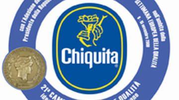 """Chiquita mette il bollino blu sulla 21° """"Campagna Nazionale della Qualità"""""""