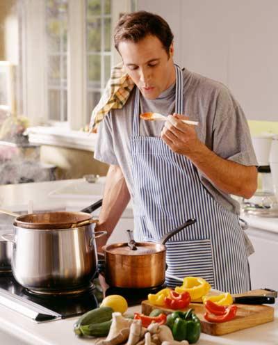 USA. La carica degli uomini in cucina