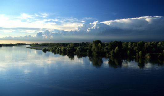 Piacenza fiume Po