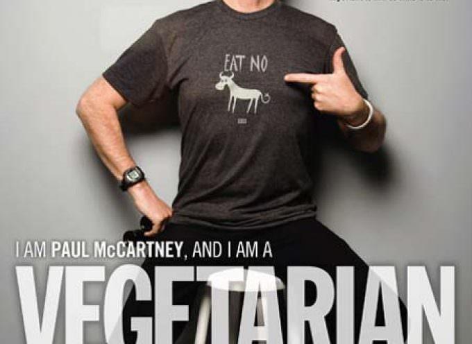 Paul Mc Cartney lancia l'appello: Rinunciamo alla carne per salvare il mondo!