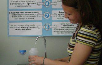 T.V.B. Ti voglio bere per la Settimana Europea di riduzione dei rifiuti: 128,4 kg di plastica evitata
