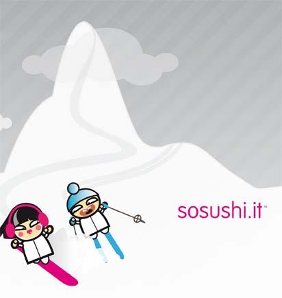 Sosushi arriva sulle piste