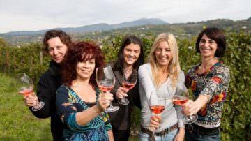 """Tutto """"rosa"""" il nuovo consiglio della Strada del vino Bardolino"""