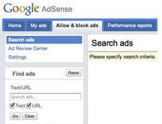 12 dicembre 2009: Google Inside AdSense, una nuova interfaccia di ricerca di annunci