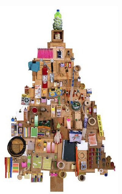Torino: Albero di Natale eco-sostenibile