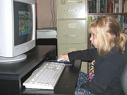 Internet fa mangiar male i bambini