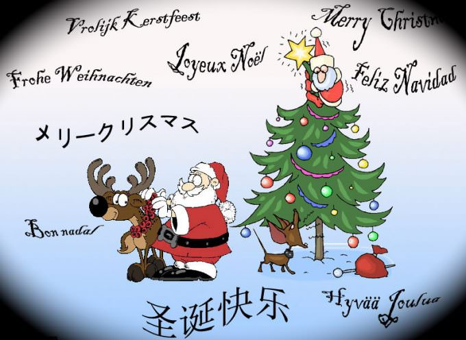 Buon Natale – Merry Christmas – メリークリスマス – 聖誕快樂 – С Рождеством