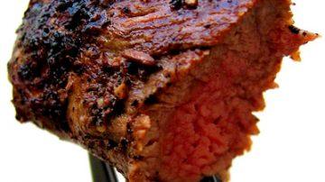 Carne, in Francia il filetto con antifurto