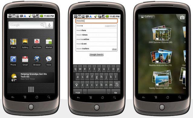 Boston 7 gennaio 2010: NEXUS ONE 'Super Phone', by Google
