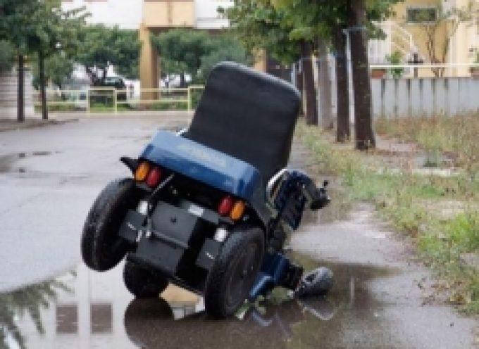 Disabile cade in una buca a Viterbo, Anselmi lancia l'allarme